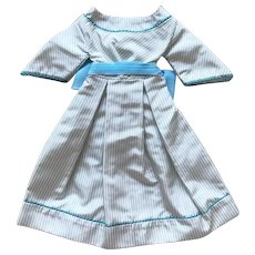 SALE : turquoise dress for early poupee