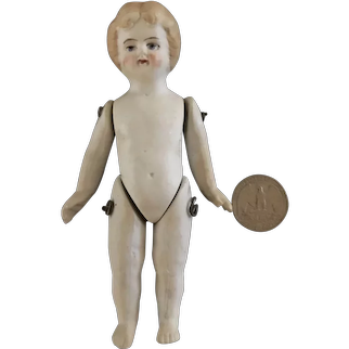 """All bisque doll - bare feet 5 1/2"""""""