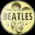 1964 I Like Beatles Scarce Light Yellow Vari-Vue Flasher Lenticular Pinback Button