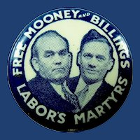 Free Mooney and Billings Labor's Martyrs Pinback Button 1920's-30's