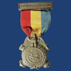 Sons of Union Veterans of the Civil War Bronze Membership Medal ca. 1890's