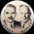 """1948 Dewey & Warren Jugate Republican Presidential Political Campaign Pinback Button 3-1/2"""""""