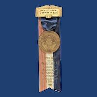 John F. Kennedy Inaugural Committee Badge Ribbon Jan. 20 1961