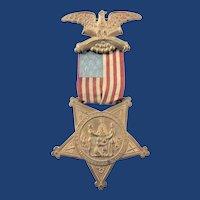 GAR Grand Army of the Republic Membership Medal #S623 ca. 1899