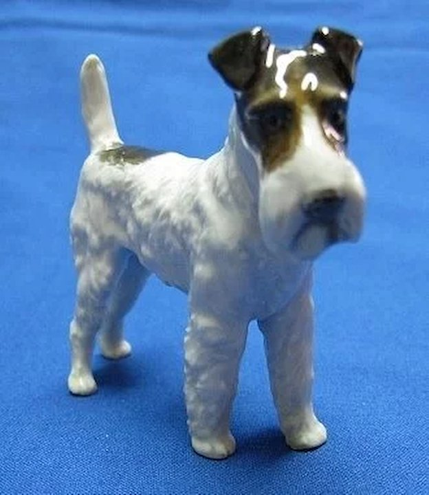 Rosenthal Wire Haired Terrier Porcelain Dog Figure Germany Quality ...