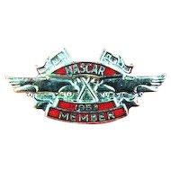 1953 NASCAR Auto Racing Member Lapel Pin mint condition