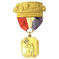 Knights of Columbia Convention New York City Medal 1935
