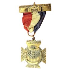 Knights of Columbus 55th Annual Convention San Antonio, Texas Medal (1937)