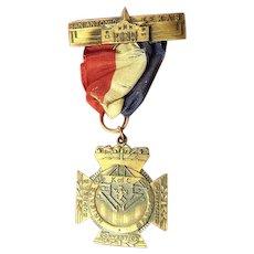Knights of Columbus 55th Annual Convention San Antonio, Texas Medal (1937)