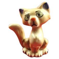 Wade Porcelain Sgt. Tibbs (Cat) Walt Disney 101 Dalmatians Movie Figure (1956-1965) Scarce