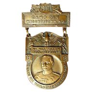 1917 WWI Camp Dix, Wrightstown, NJ General Pershing Medal
