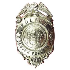 Essex Fells, NJ Police Badge # A39