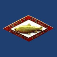 Tenax Fishing Contest Award Badge Pin Dieges & Clust