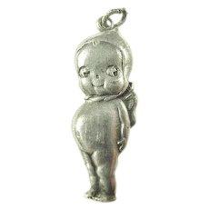 Original Kewpie Doll Charm ca. 1910's-1920's