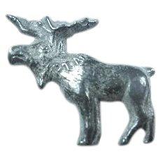 "1912 Progressive Party ""Bull Moose"" Teddy Roosevelt Lapel Pin Stud (Metal)"