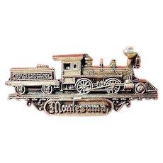 Denver- Rio Grande Railroad The Montezuma #1 Lapel Pin Sterling ca. 1950s-60s