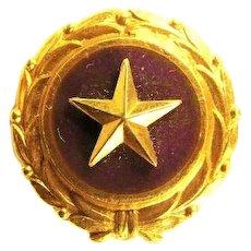 Gold Star Mothers Pin Old Original Pinback Version Act of Congress 1947