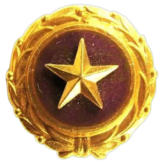 Gold Star Mothers Pin Old Original Pinback Version Act of Congress 1947