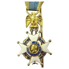 Sons of the American Revolution Miniature Medal #17987 ca. 1900