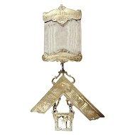 Masonic Past Master Medal Sylvania Lodge 354 named & dated