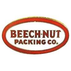 Beech-Nut Packing Company Enamel Pin
