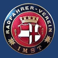 Radfahrer-Verein Bicycle Biker Club of Imst, Austria Members Lapel Badge Pin
