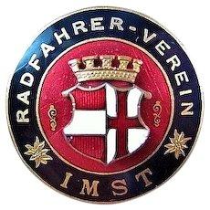 Radfahrer-Verein Bicycle Biker Club of Imst, Austria Members Lapel Badge Pin