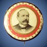 "1904 Alton Parker Democrat Presidential Campaign Pinback Button 1-1/4"""