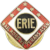 Erie R.R. Railroad 25 yrs. Service Pin ca. 1910s-1920s