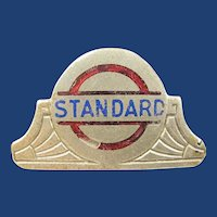 Standard (Oil) Company Gas Station or General Employees Badge Pin ca. 1920's-30's