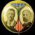 1904 Roosevelt Fairbanks Jugate Celluloid Political Campaign Pinback Button Pulver