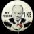 1952 Dwight D. Eisenhower My Friend IKE Republican Presidential Political Campaign Pinback Button scarce