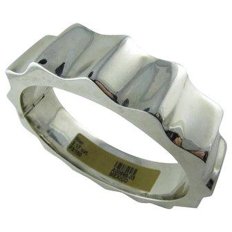 Bold Sterling Bracelet