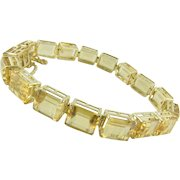 Sunny Citrine 10k Bracelet