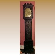 English Tall Case Grandfather Clock, C.1740, James Webster