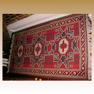 "Oriental Turkish Rug Hand Woven all wool (3'6""X5'6"")"