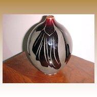"Mid-Century Modern Vase signed ""KAKI"" (Kathleen King)"