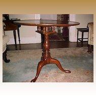 Tilt-top Tea Table Mahogany 18th Century English
