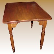 Country Breakfast Dining Table C.1880