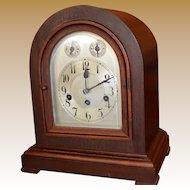 Mantel Bracket Clock Junghans C 1913 Chimes