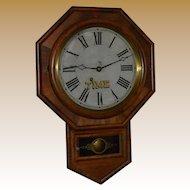Antique Octagon Regulator Clock Ansonia 1890