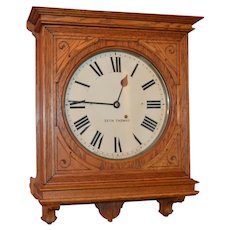 "Antique Seth Thomas ""Office No. 5"" Clock 1904"