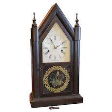Steeple Clock E.N. Welch 1870