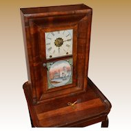 Antique New Haven Baby Ogee Clock 1875