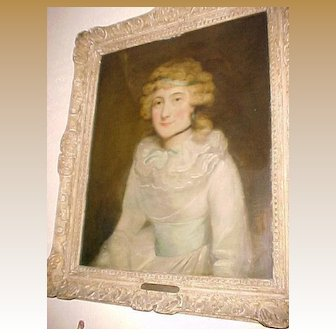 """Portrait """"Lady Betty Bary"""" By George Romney (1734-1802)"""