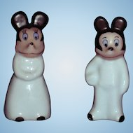 Mickey & Minnie Figurines