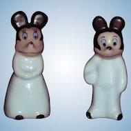 Mickey & Minnie Figurines