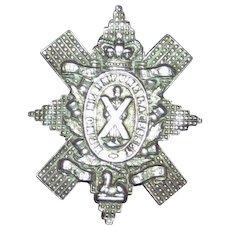 WWI CEF 13th Battalion Montreal Cap Badge