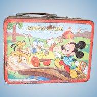 1954 Mickey & Donald Lunch Box
