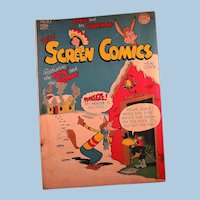 National Comics Publications Inc.- DC Comics Publication- Real Screen Comics Featuring the Fox and the Crow 1947 #10